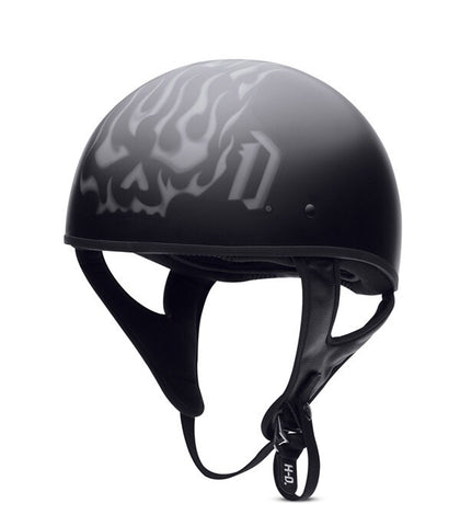 97293-15VM  H-D® Men's Burning Blaze Hybrid Ultra-Light Half Helmet