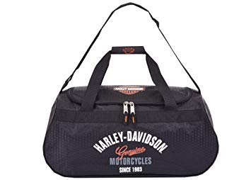99418-BLK Harley-Davidson® Tail Of The Dragon Collection Sports Duffel Bag w/ Strap