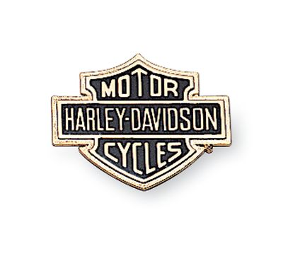 91815-85 H-D Bar & Shield Self-Adhesive Large Medallion