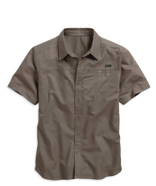 96071-15VM H-D Angled Yoke Cotton Shirt