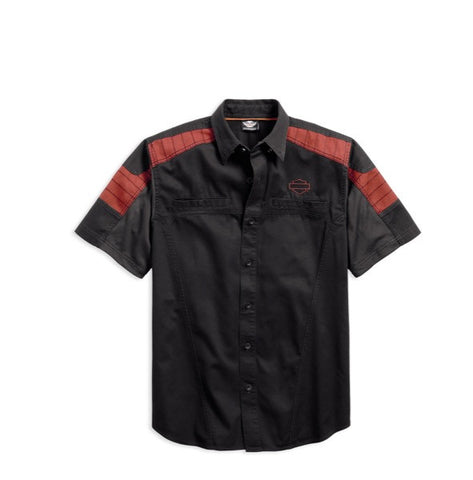 96408-17VM H-D Performance Mesh Panel Shirt