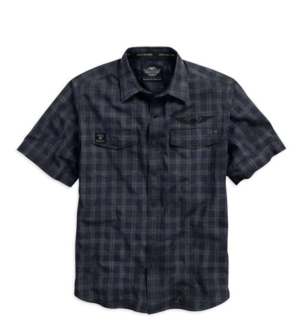 96430-15VM - H-D® Century Strong Plaid Shirt