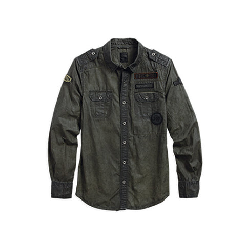 96460-16VM Harley-Davidson Multi-Patch Shirt