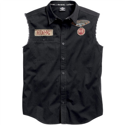 96472-15VM - HD Skull Sleeveless Blowout Shirt