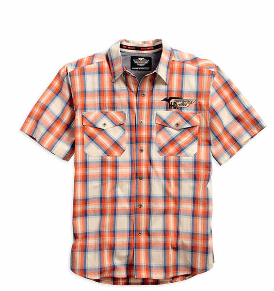 96478-15VM H-D®MC Power Plaid Shirt