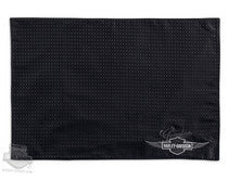 96812-14V - Harley-Davidson® Genuine Trademark B&S Wings Black Place Mat