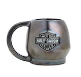 96860-16V H-D Sculpted Skull Mug