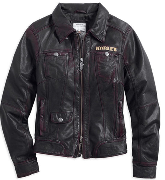 97026-15VW Harley-Davidson® Women's LIMITED EDITION Newberry Leather Jacket