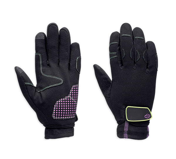 97244-14VW H-D Women's Exhilarate Full Finger Gloves