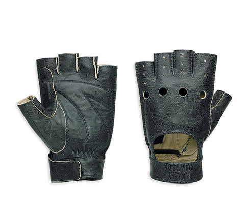 97306-15VM H-D Fugitive Fingerless Gloves