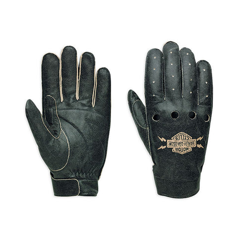 97307-15VM HD Glove F/F Fugitive BLK/GR