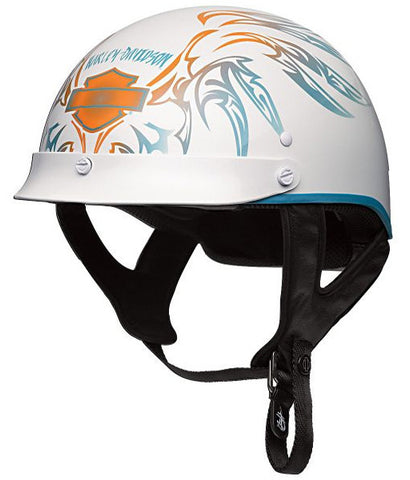 97312-09VW H-D® Women's Wind Crest Skylinehalf Helmet