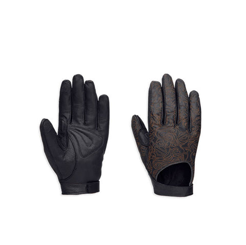 97325-16VW Harley-Davidson Endeavour Leather Gloves