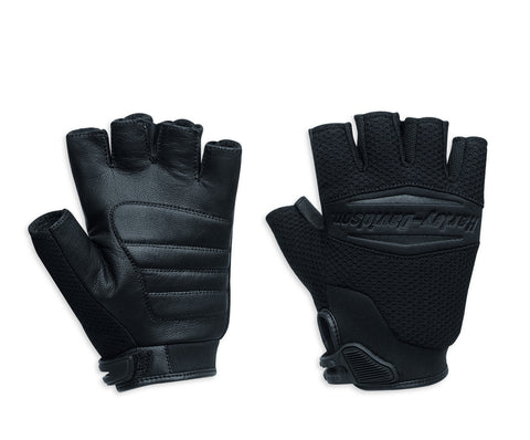 97354-16VM H-D® Men's Sultan Mesh Fingerless Gloves