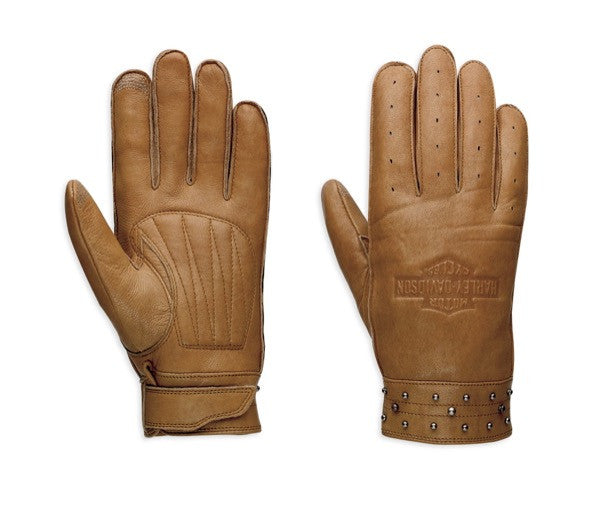 97373-17VW H-D Calamity Leather Gloves