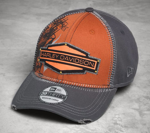 97605-17VM Harley-Davidson 39THIRTY® Whipstitch Cap