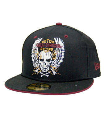97665-14VM H-D® Skull 59Fifty Men's Cap