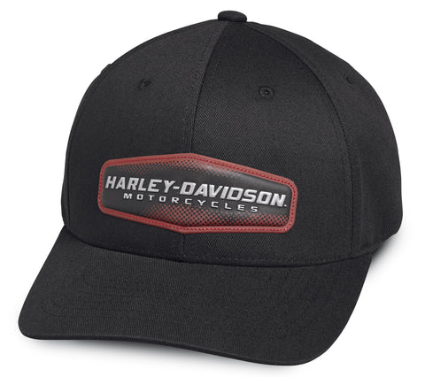 97775-19VM Harley-Davidson Baseball Cap High Density black