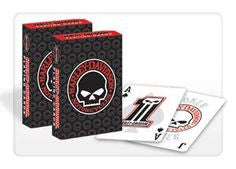 DW-623 Skull Playing Card