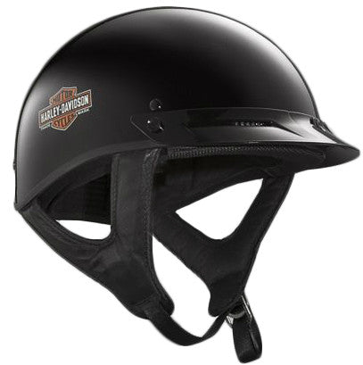 98283-14VM H-D® Mens Generations Trademark B&S Hybrid Ultra-Light Gloss Black Half Helmet