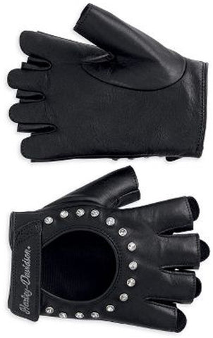 98307-12VW H-D Glove Embellished Leather FI