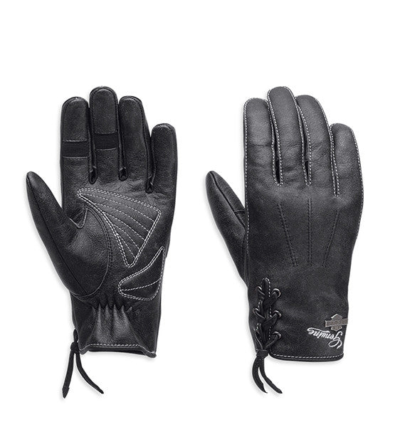 98343-15VW Harley-Davidson Swingback Distressed Full-Finger Gloves