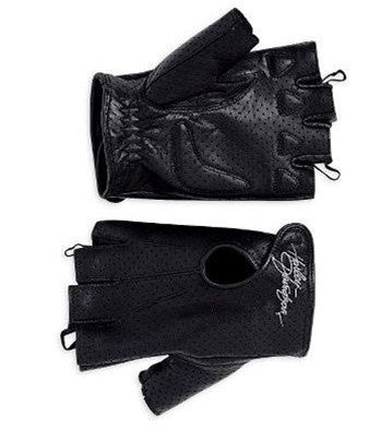 98347-09VW Harley-Davidson® Women's Perforated Fingerless Gloves