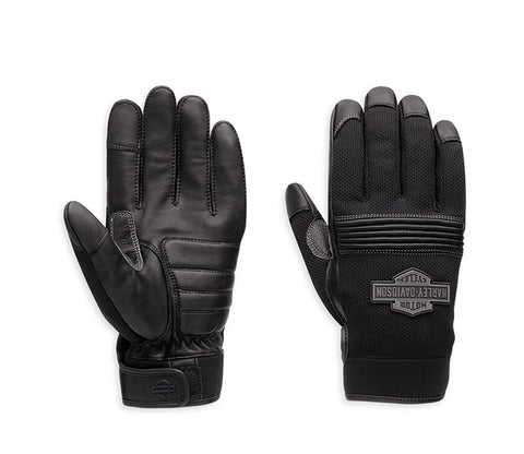 98387-16VM H-D® Stark Mesh & Leather Gloves