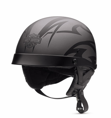 98388-16VM Tribal Adjustable Fit Half Helmet