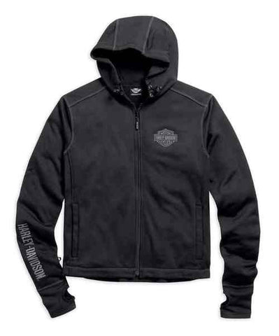 98568-16VM H-D Thunder Hooded Soft Shell Jacket