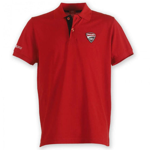 Ducati Corse Men`s Polo Shirt Red