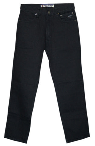 99023-05VM - H-D® Mens Traditional Fit Straight Cut Black Jean Denim Pants