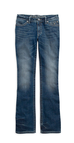 99116-15VW H-D Boot Cut Contour Embellished Jeans