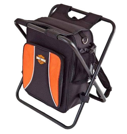 99304 H-D® Black Backpack Cooler Seat