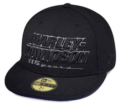 99406-18VM H-D Men's 115th Anniversary 59FIFTY Baseball Cap