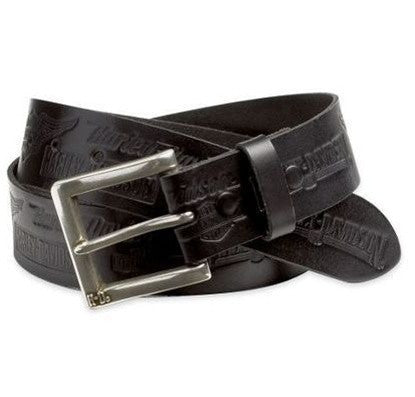 99493-07V H-D Men's Allover Embossed Belt