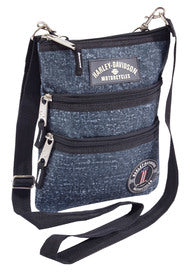 99616-BLUE  H-D® Women's Cross-Body Crossbody Sling Purse, Blue Rain