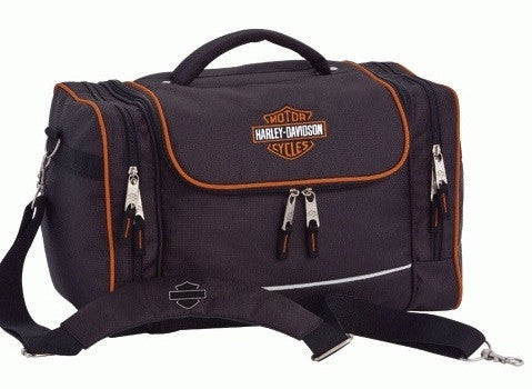 99601 BK-Harley-Davidson® Hop-Along 2 Black Luggage