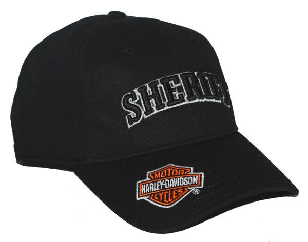 BC126730 H-D® Men's 3D Sheriff Bar & Shield Baseball Cap