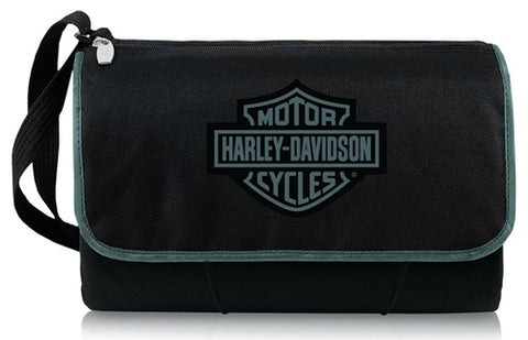 820-00-175-004-7 H-D B&S Logo Black Blanket Tote