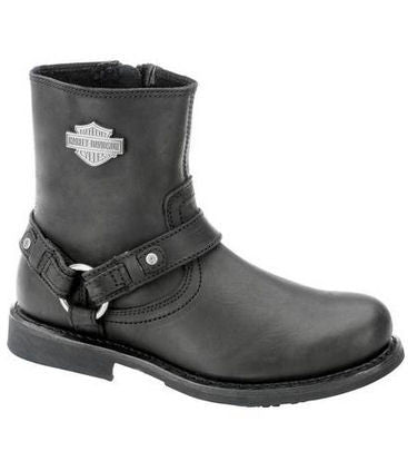D93262 H-D Men's Scout Steel Toe Black Boots