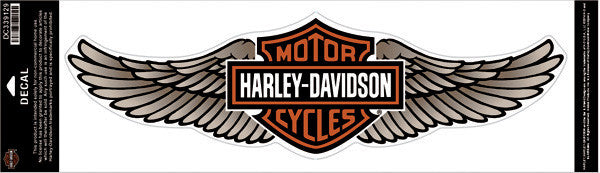 DC339129 - Harley-Davidson® Straight Wing Tan 5X Decal