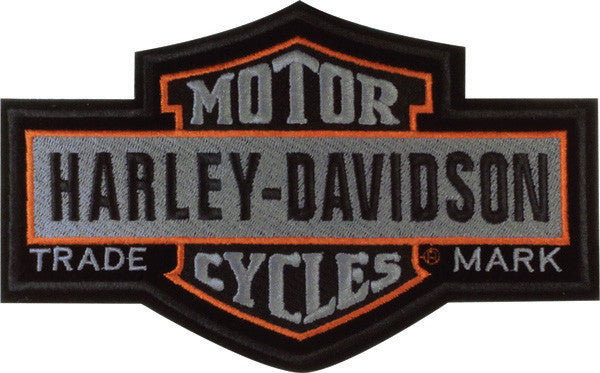 EM313754 Harley-Davidson® Nostalgic B&S Large Patch
