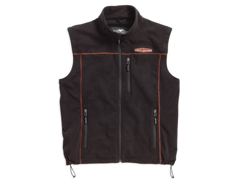 98567-16VM H-D Fleece Mid-Layer Vest