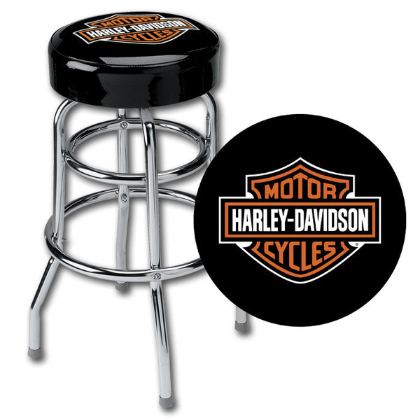 HDL-12116  Harley-Davidson® Bar Stool B&S Eagle