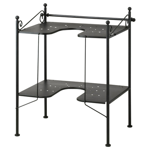 RONNSKAR Wash-basin shelf, black. 10192579