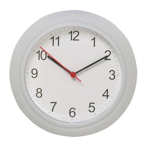 RUSCH Wall clock, white. 70023692
