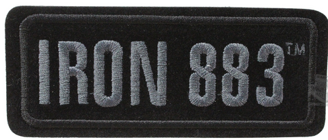 EM187802 H-D® Iron 883™ Motorcycle Small Patch