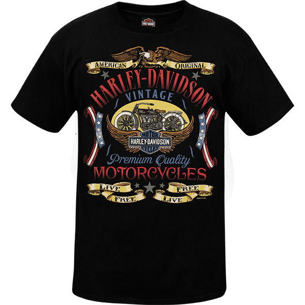 R0024355 H-D Patriot Label Mens Tee