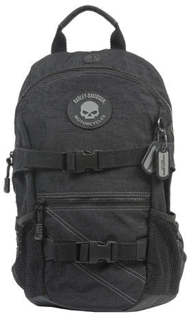 RL7290S-GRYBLK H-D Willie G® Rally Backpack